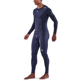 Skins Series-3 LS Top Men, navy blue
